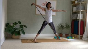 Stretch & Release – Yoga with Resistance Bands.